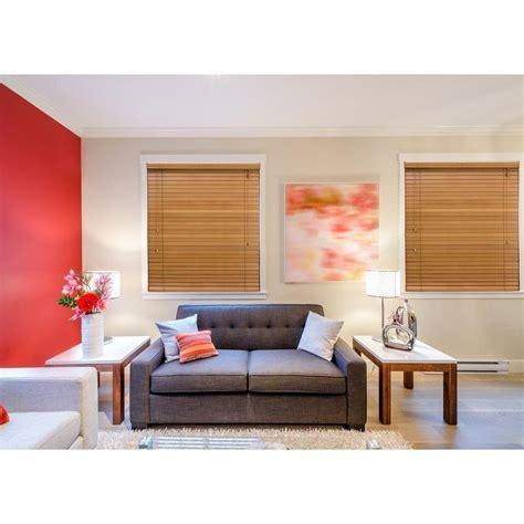 home decorators collection golden oak   basswood blind