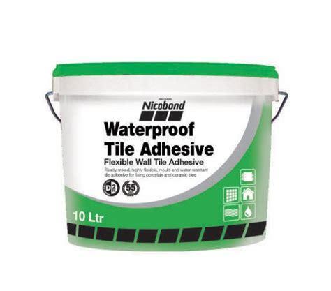 nicobond waterproof tile adhesive