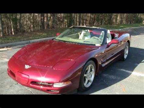 corvette convertible  sale anniversary edition