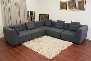 Upholstered Sectional Sofa U Shaped Sectional Sofa For