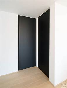 Portes interieures modernes sur mesure anyway doors for Porte de garage et portes interieures noires