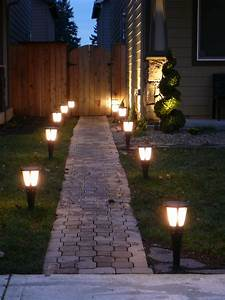 Outdoor Lightning  U2013 Top Easy Backyard Garden Decor Design