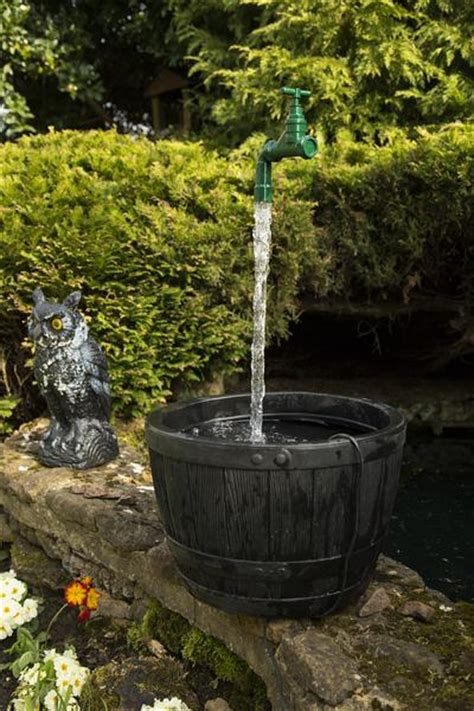 mm floating tap water feature including pump