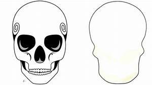 Day Of The Dead Skull Templates By Manxminx Teaching