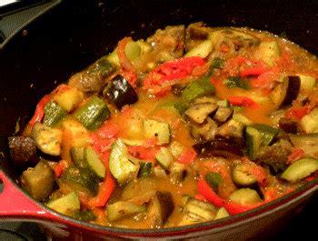 cuisiner la ratatouille la ratatouille recette méridionale les légumes cuisinés