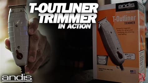 Andis T-outliner Trimmer In Action
