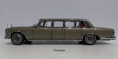 The forerunner of the modern maybach marque, the 600 grosse mercedes. CMC Mercedes-Benz 600 Pullman (W100) Limousine mit ...