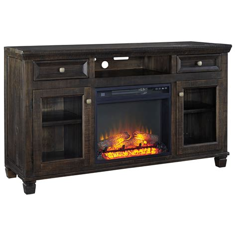 ashley signature design townser solid wood pine large tv