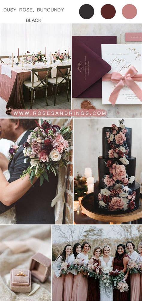 Top 9 Dusty Rose Wedding Color Palettes for 2020 Vintage