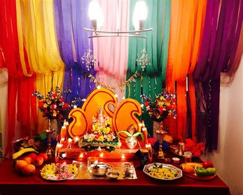 Ganapati Decoration Ideas - top 35 creative ganpati decoration ideas for home that