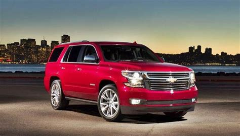 chevy tahoe redesign  release date auto