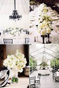 picture of awesome ideas for a black and white wedding With ideas for a wedding