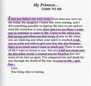 best 25 god is good ideas on pinterest god is good With love letters from god to his princess