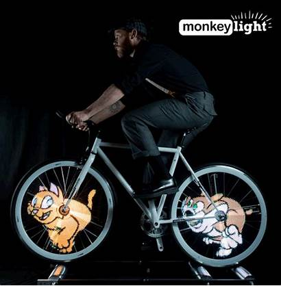 Wheel Bike Lights System Bicycle Own Graphics
