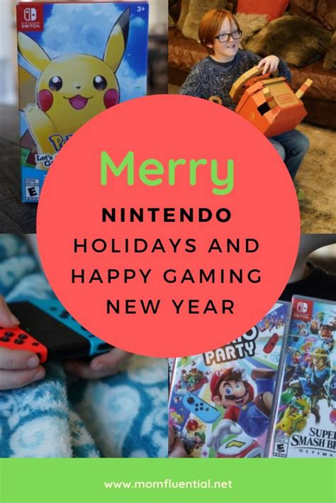 We Wish You A Merry 2018 Nintendo Christmas And A Super