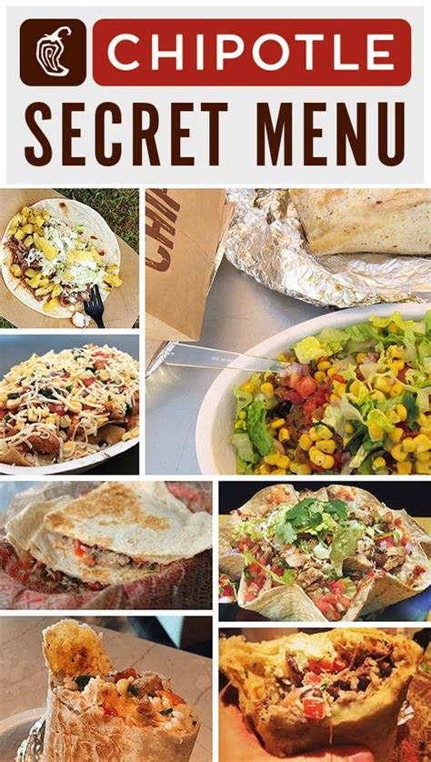 chipotle secret menu  hidden menu items youve