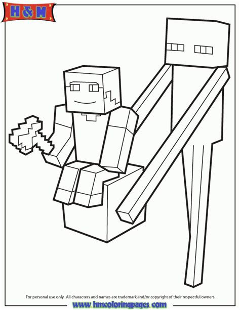 minecraft coloring minecraft coloring pages steve coloring home