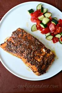 Baked salmon recipe, Indian style baked salmon Edible Garden