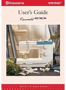 Husqvarna Viking Emerald 122 User Manual Pdf Download