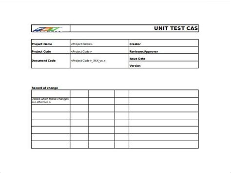 functional testing template master template