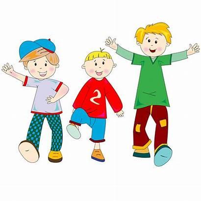 Summer Happening Cartoon Happy Children 2a