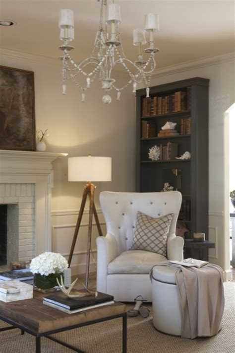 chic blue living room gray bookcase traditional living room wolter Rustic
