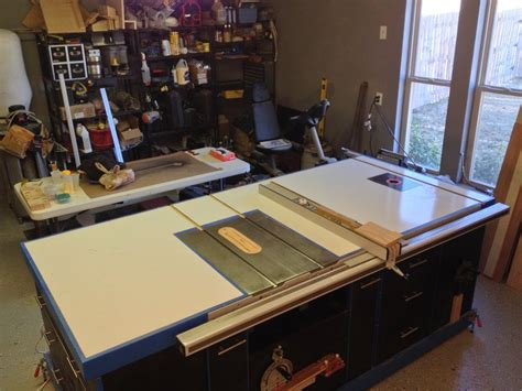 ultimate table  cabinet  drew  lumberjockscom