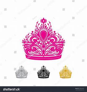 Detailed Pageant Crown Stock Vector 308640455 - Shutterstock