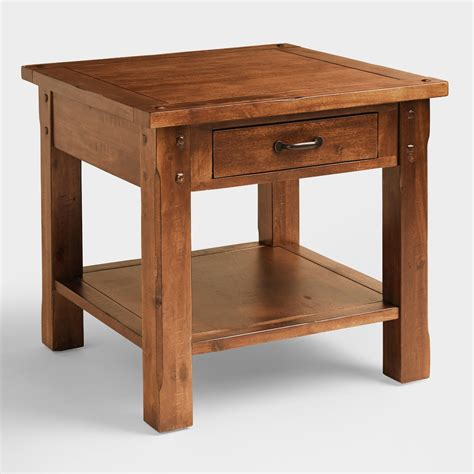 Madera End Table  World Market. Help Desk Requirements. Two Drawer Table. Cheap Sofa Table. Add Drawers To Kitchen Cabinets. 10 Table Saw. Reclaimed Wood Accent Table. Coastal Table Lamps. 6 Drawer Dresser White