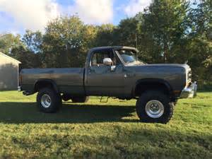 1989 Dodge Ram For Sale by 1989 Dodge Power Ram 4x4 For Sale Photos Technical