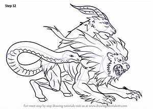 Step by Step How to Draw Chimera from Fate-Grand Order ...