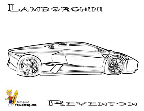 rugged exclusive lamborghini coloring pages cars