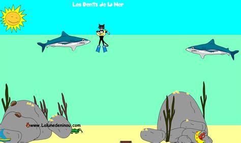jeux de cuisin e jeux de requins jeux pour enfants sur lalunedeninou com