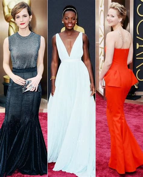 Oscars Fashion Recap The Top Trends Night