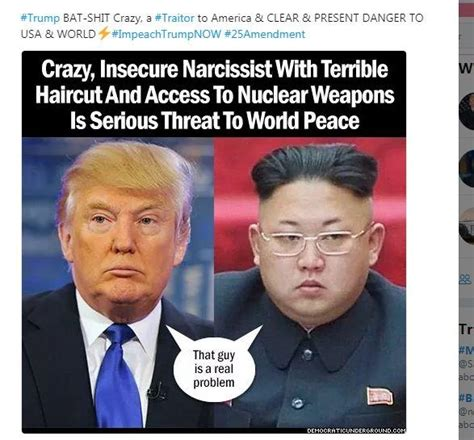Kim And Trump Memes - the nuclear button debate trump kim jong tweets invite memes gifs snowflakes catch news