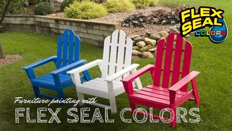 How To Color Plastic Furniture With Flex Seal Colors