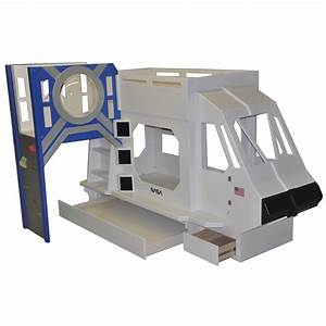 Space Bunk Beds - Space Shuttle Theme Bunk Bed, 30 Fresh ...