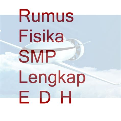 rumus fisika smp for pc