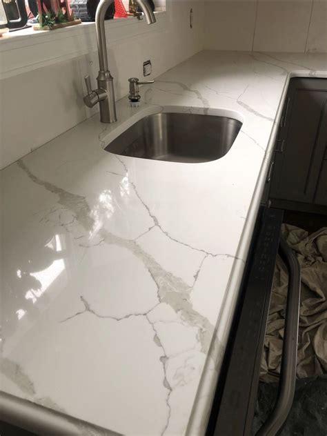 quartz countertops  msi calacatta laza  ogee