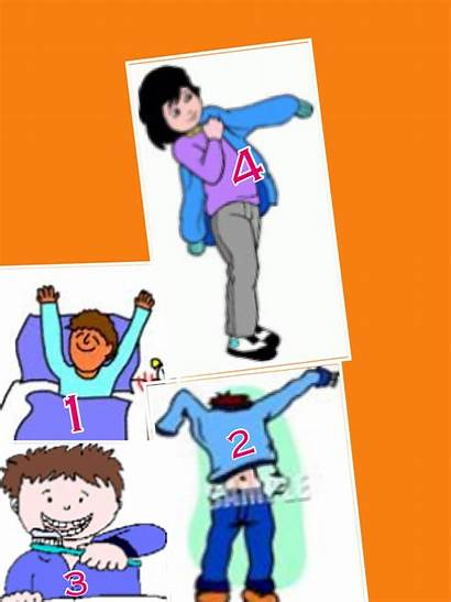 Dressed Ready Getting Clip Clipart Child Boy