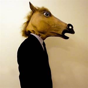 Fancy - Horse Head Mask