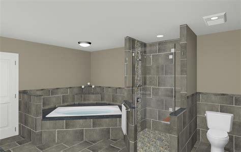 bathroom shower makeover  wall nj  design build