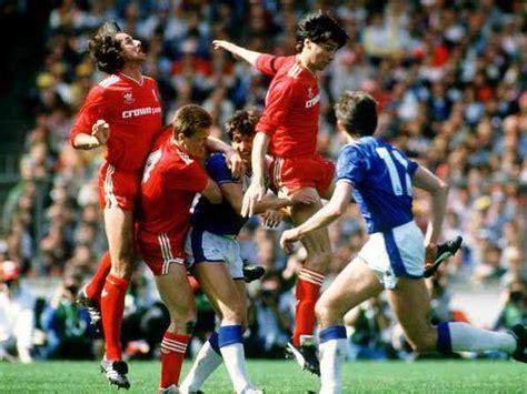 FA Cup final 1986, Everton v Liverpool at Wembley Stadium ...