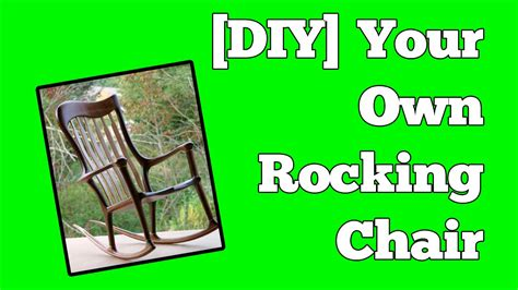 build  rocking chair perfect chairs  easy