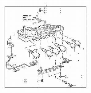 Toyota Corolla Automatic Transmission Control Solenoid