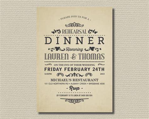 Progressive Dinner Invitation Template • Business Template