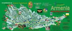 Donde Queda Armenia Colombia Mapa