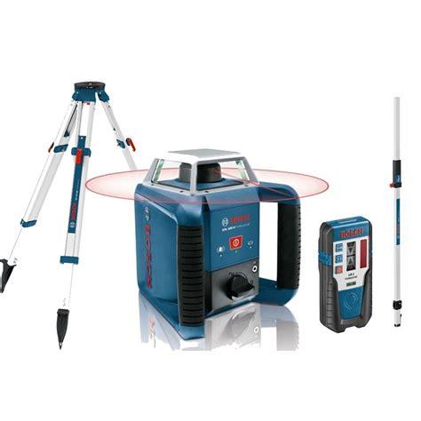 niveau laser interieur exterieur pack laser rotatif grl400h bt170hd gr240 bosch 061599403u