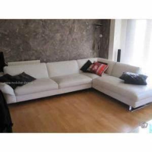 photos canape d39angle cuir blanc roche bobois With canapé d angle roche bobois prix