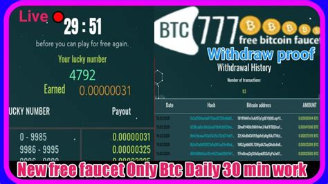 How do i earn the free bitcoin? hack Free Bitcoin Earning site - 2020   Earn free Bitcoin,Every 30 minute   Zero invest, Urdu ...